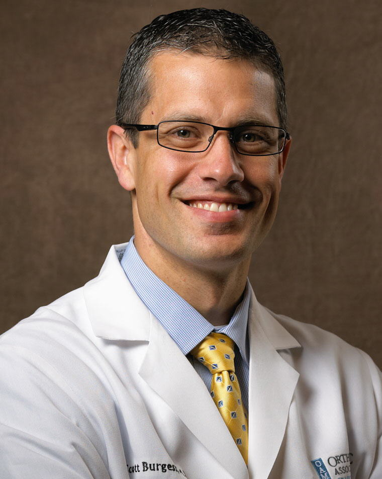 Portrait of Scott Burgess, MD